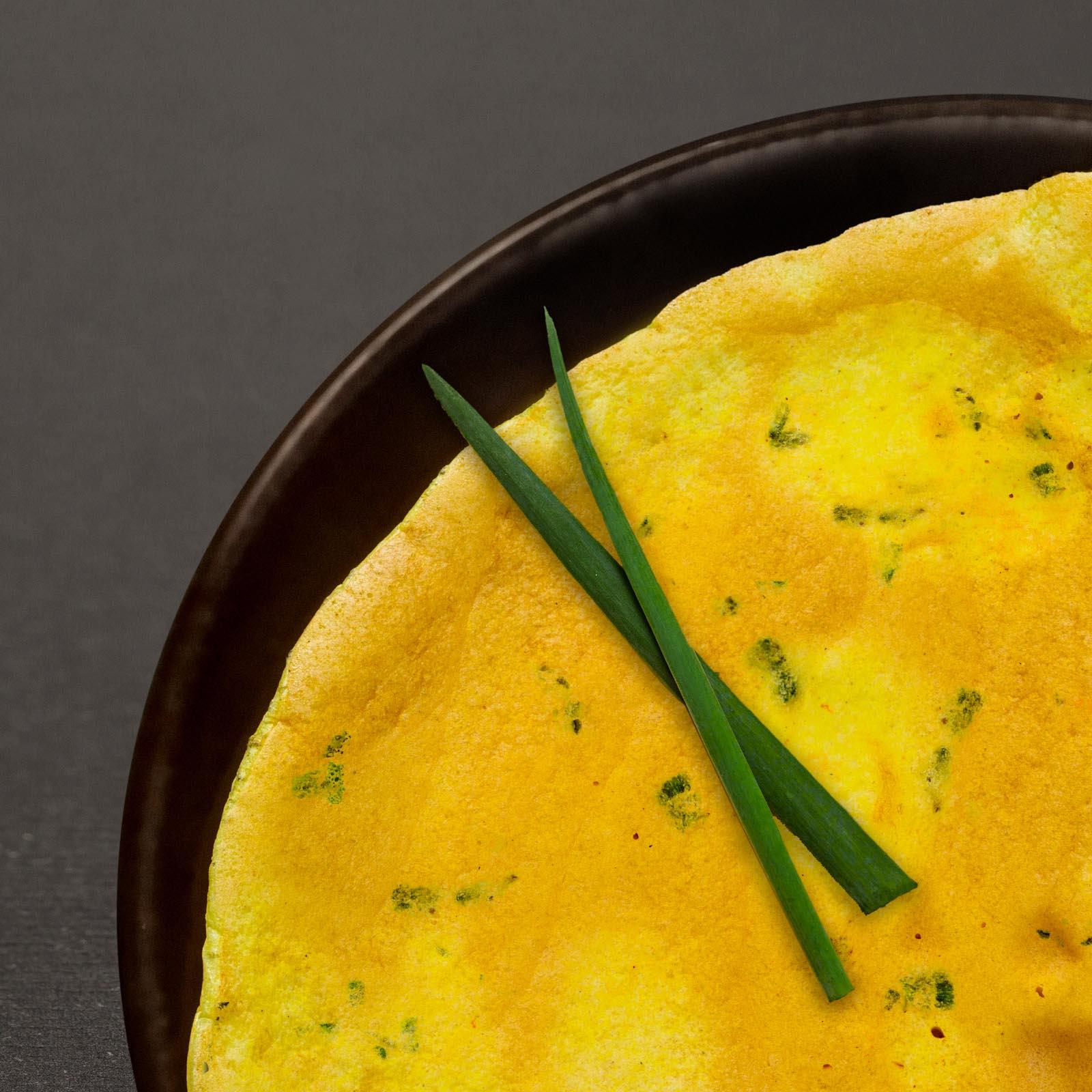 Hagymás-snidlinges omlett