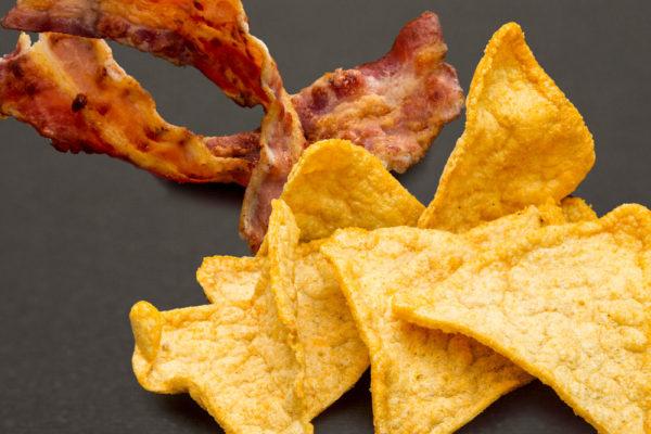 Toman Diet snack baconos