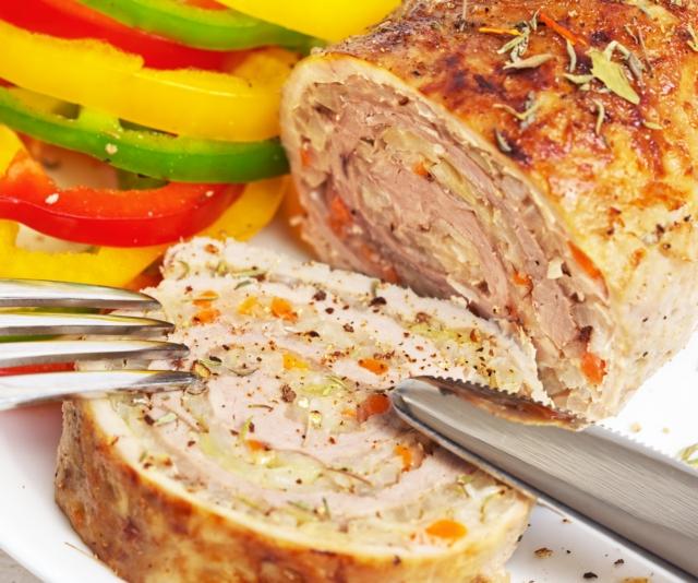 Csirkemellsonka házilag recept