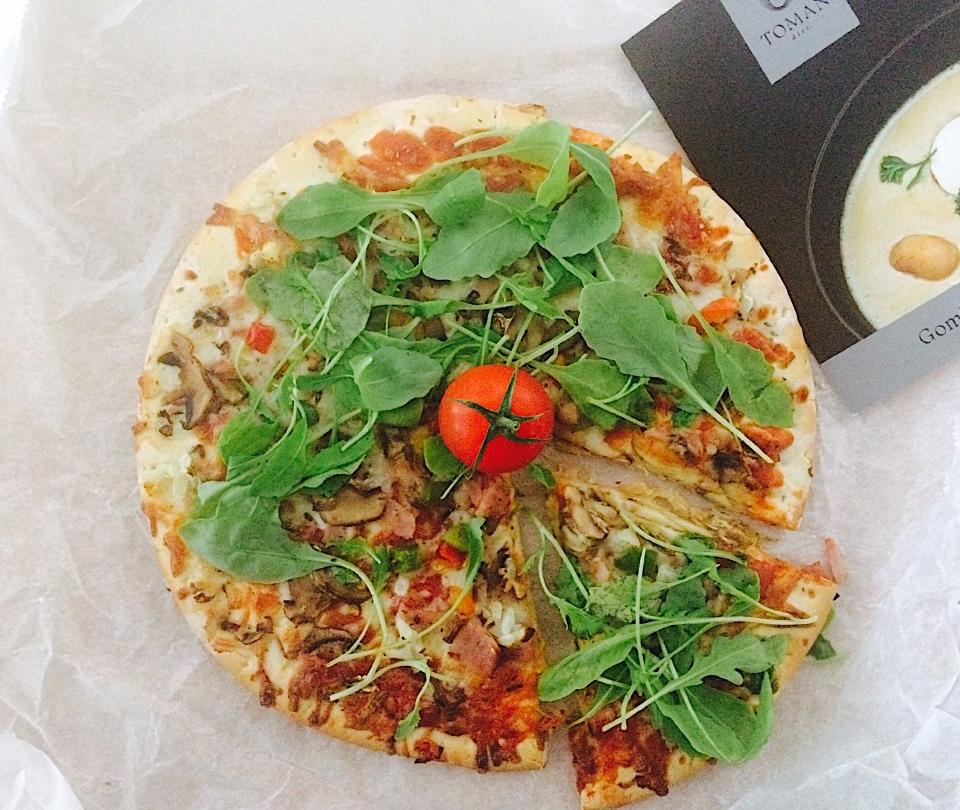 Diétás pizza